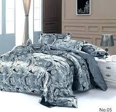white duvet cover cal king king bedding sets target silver grey paisley silk satin quilt duvet