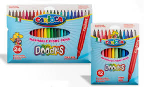<b>Фломастеры DOODLES CARIOCA</b>, 24 цветов - <b>Фломастеры</b> ...