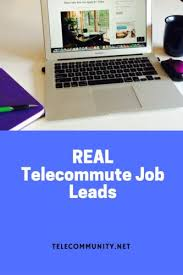 Telecommute Job Telecommute Freelance Job Leads Archives Page 3 Of 7 Telecommunity