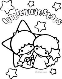Small Picture Sanrio Characters Coloring Pages Coloring Page Little Twin