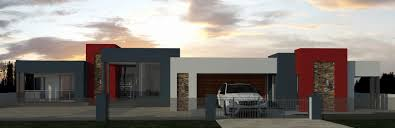 3 bedroom house plan designs unique south african flat roof house plans