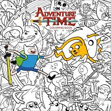 amazon adventure time coloring book volume 1 9781506708003 cartoon network books