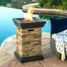 propane fire pit fire pit glass fire pit rocks outdoor inch column propane fire pit