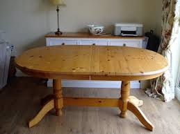 pine dining room table. Delighful Pine OVAL EXTENDING SOLID PINE DINING ROOM TABLE Throughout Pine Dining Room Table X