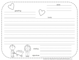 How To Write A Friendly Letter Free Printables Letter