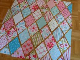 Great tutorial on a diamond quilt | QUILTS | Pinterest | Diamond ... & Great tutorial on a diamond quilt Adamdwight.com