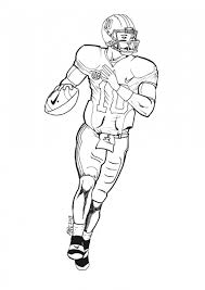 Small Picture Get This American Football Player Coloring Pages Kids Printable