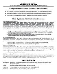 Unix Manager Resume] Top 8 Unix System Administrator Resume .
