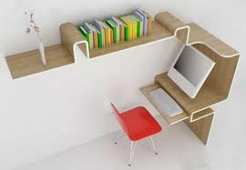 narrow office desk. Gorgeous Narrow Office Desk Ultra Compact Interior Designs 14 Small Space Solutions Webecoist