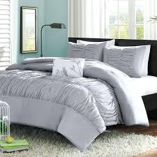 solid gray comforter image of light grey set queen
