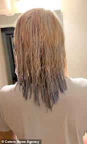 Teen Who Tried To Bleach Her Long Brown Hair Blonde Is