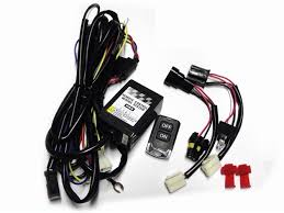 high beam led light integration wiring harness wireless remote