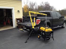 Maxxtow 70238 Receiver Hitch Mounted Pick Up Truck Crane - Tools In ...