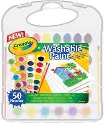 Amazon Com Crayola Washable Paint N Paper Set Toys Games L B