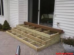 patio steps pea size x: wooden patio steps porch stairs  wooden patio steps porch stairs