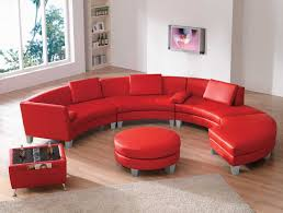 Red Living Room Furniture Leather Sectional Sofas Amazing 2 In 1 Modern Furniture Black