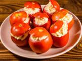 a tomato well stuffed