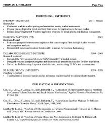Investment Analyst Resume Free Resume Templates 2018
