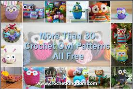All Free Crochet Patterns Enchanting More Than 48 Crochet Owl Patterns All Free And Amazing