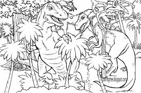 Dinosaur Coloring Pages With Cartoon Also Free Printables For
