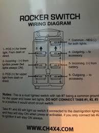 5 Pin Lighted Rocker Switch Wiring Diagram 7 Pin Winch Wiring Warn Winch Rocker Switch Wiring Diagram 8
