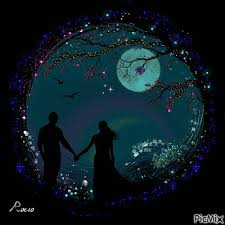 really romantic good night animation
