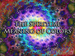 Spiritual Color Chart The Spiritual Meaning Of Colors In5d