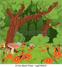 Resultado de imagem para desenhos de floresta