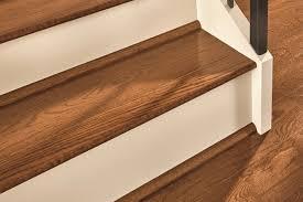 hardwood flooring trim on a staircase sakp59l401