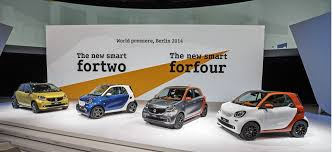 new car launches july 20142016 Smart ForTwo And ForFour World Debut Live Photos