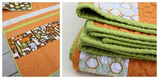 Quick and Easy Baby Quilt tutorial - Diary of a Quilter - a quilt blog & With so many great large scale fabrics available, you can create a simple  baby quilt, letting the design motifs do all the work for you. Adamdwight.com