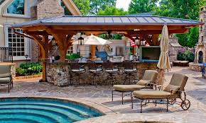 Design Your Own Backyard Your Own Backyard With Outdoor Kitchen Patio Design  Ideas Interior Nice Look