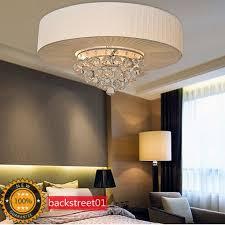 New Modern Luxury K9 Crystal Ceiling Light Chandelier Pendant Lamp Lighting  50cm