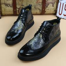 new 2017 men platform brogues oxfords pointed toe genuine leather Wedding Riding Boots new 2017 men platform brogues oxfords pointed toe genuine leather riding boots wedding shoes for men wedding reading book of isaiah