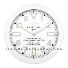 breitling wall clock collection