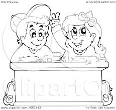 Small Picture Royalty Free Vector Clip Art Illustration of a Coloring Page