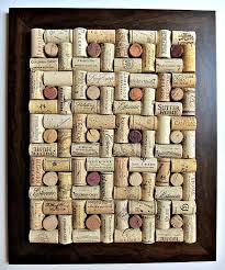 Cork board wine corks