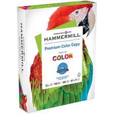 Premium <b>Color Copy</b>, <b>100</b> Brightness, 32lb, 8-1/2 x 11, Photo White ...