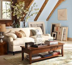 Pottery Barn Living Room Paint Colors Furniture Chic Pottery Barn Accents For Living Room Lacquered