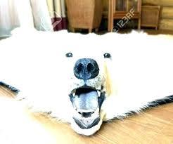 faux polar bear rug faux polar bear rug simple real polar bear rug bear rug fake
