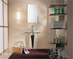modern bathroom shelving. Modern Bathroom Glass Shelves And Other Accessories : Best 2015 Contemporary Shelving