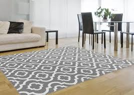 grey area rug 5 7