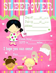 free sleepover invitation templates birthday sleepover invitations free premier jewelry party invitation