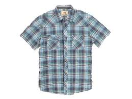 Dakota Grizzly Size Chart Western Vintage Washed Shirt 2 Colors