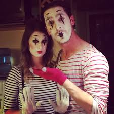 last year was no exception with the clock ticking and a will to save some money we slapped on some creative face makeup and striped shirts to transform