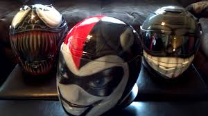 harley quinn plus 2 more custom painted helmets by airgraffix com