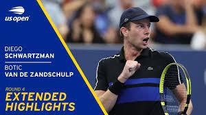 Diego Schwartzman vs Botic Van De Zandschulp Extended highlights | 2021 US  Open Round 4 - US Open Tennis Championships - Xnewsnet