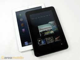 Apple iPad 4 und Amazon Kindle Fire HD 8.9