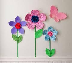 3d flower wall decor for girls room