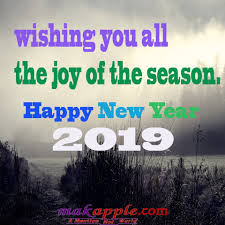 Happy New Year 2019 Greetings Wishes Makapplecom